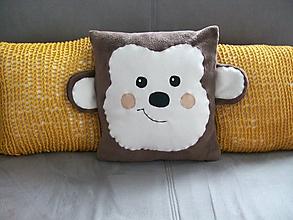 Textil - Vankúšik Opička - 10828384_