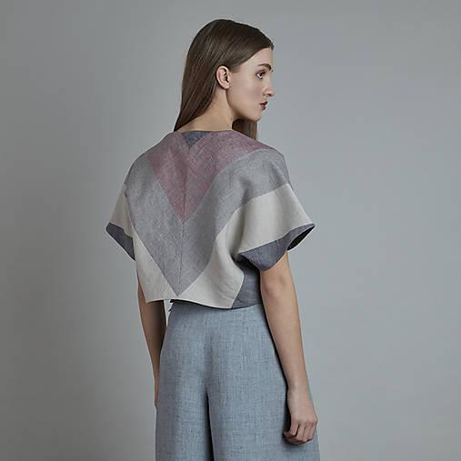 Kabáty - ľanový kabatik OLE - 10828297_