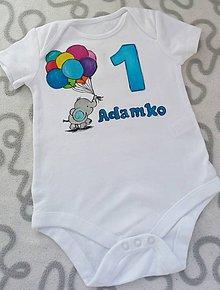 Detské oblečenie - Narodeninové body - 10830183_
