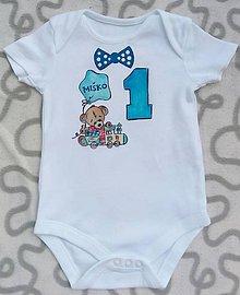 Detské oblečenie - Narodeninové body - 10830243_