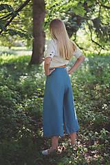 Nohavice - miljö ľanové nohavice - swaddle - 10830106_