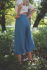 Nohavice - miljö ľanové nohavice - swaddle - 10830115_