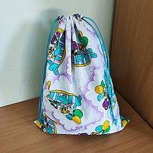 Detské tašky - Vak na hračky (Medvede) - 10827951_