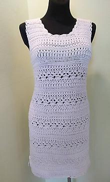 Šaty - Čipkované šaty - 10828581_