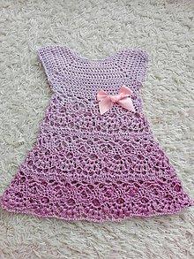 Detské oblečenie - Letné šatičky - 10829076_