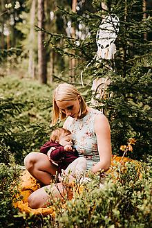 Tielka - Tielko na dojčenie-SEN O JEDNOROŽCOVI - 10829630_