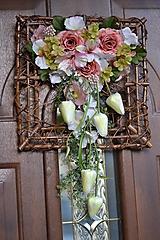 Dekorácie - Atypický veniec na dvere - 10827907_