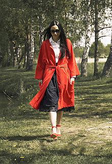 Kabáty - Ľahký  kardigan - 10830193_