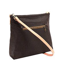 Kabelky - dámská kabelka CARMEN BROWN - 10830001_