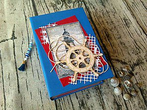Papiernictvo - Mini album Nautical - 10828307_