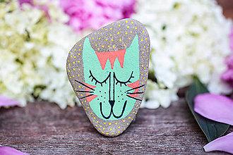 Dekorácie - Mačička Tafi - 10828763_