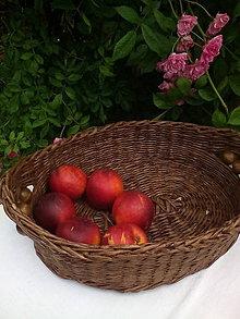Košíky - Oválna ošatka s korálkami - 10830164_