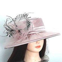 Čiapky - Spoločenský klobúk - 10829355_