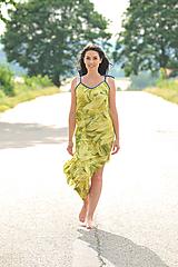 Šaty - Maxišaty z lehounké krepové viskozy - S - L - 10828917_