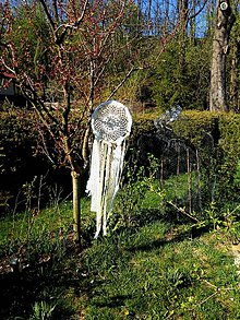 Dekorácie - Velký lapač snou - 10831670_