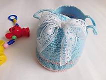 Hračky - Košík s bábikou - 10832481_