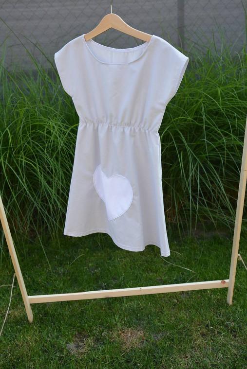 Dievčenské letné šaty Mile