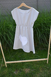 Detské oblečenie - Dievčenské letné šaty Mile - 10830703_