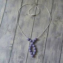 Šperky - Silikónový náhrdelník pre otecka