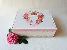 Krabičky - Drevená šperkovnica/organizér - 10832053_