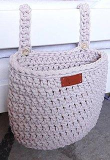 Úžitkový textil - Vreckár (Ružová) - 10831977_