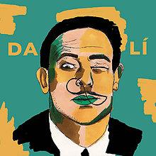 Grafika - Salvador Dalí - print - 10830821_