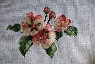 Iné doplnky - výšivka čerešňový kvet - 10831292_