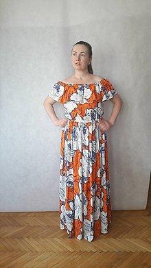 Šaty - šaty maxi, vel .M/L - 10830677_