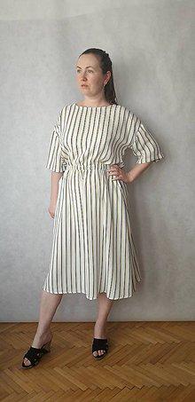 Šaty - šaty midi, vel .M/L - 10832308_