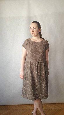 Šaty - Šaty z mušelínu , vel. M/L - 10832355_