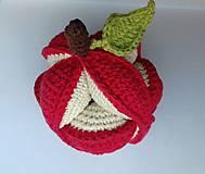 Hračky - Jablko úchopová loptička - 10830955_