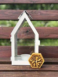 Svietidlá a sviečky - Včielky z pravého včelieho vosku - 10831798_