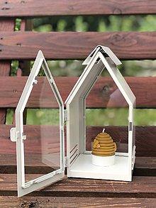 Svietidlá a sviečky - ÚĽ z pravého včelieho vosku - 10831806_