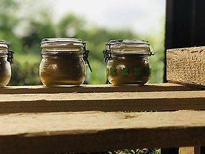Svietidlá a sviečky - Vôňa v pohári - 10831833_