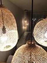 Svietidlá a sviečky - Tienidlo z bambusu 2. - 10832210_