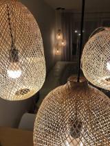 Svietidlá a sviečky - Tienidlo z bambusu 2. - 10832211_
