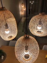 Svietidlá a sviečky - Tienidlo z bambusu 2. - 10832212_