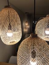 Svietidlá a sviečky - Tienidlo z bambusu 2. - 10832214_
