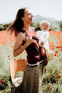 Tielka - Tielko na dojčenie-POSLANIE ŽENY - 10831196_