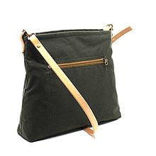 Kabelky - dámská kabelka CARMEN GREEN 2 - 10832235_