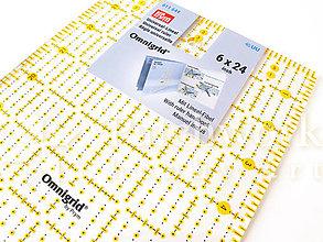 Pomôcky/Nástroje - Pravítko na patchwork 6 x 24 palcov - 10831433_