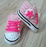 Topánočky - Tenisky s hviezdičkou - 10834015_