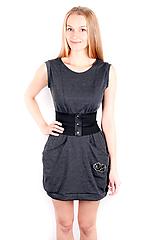Šaty - Šaty PANDA grau - 10833546_