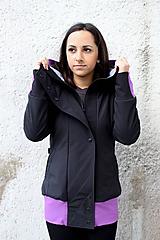 Kabáty - Bunda SShell VIOLET - 10833698_