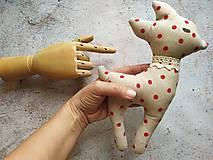 Hračky - Srnka - bodkovaná láska - 10834654_