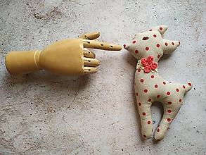Hračky - Srnka - bodkovaná láska - 10834660_