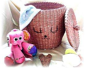 Košíky - Zásobník - Kôš na hračky - 10834449_