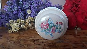 Svietidlá a sviečky - Sviečka zo sójového vosku - kvet - 10834122_