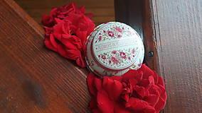 Svietidlá a sviečky - Sviečka zo sójového vosku - kvet - 10834127_