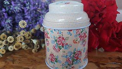 Svietidlá a sviečky - Sviečka zo sójového vosku - kvet  (Béžová) - 10834121_